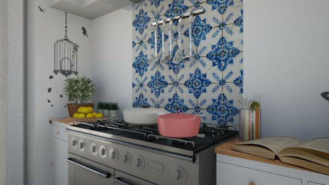 016 - Retro - Kitchen - by Anna Karine Rodrigues