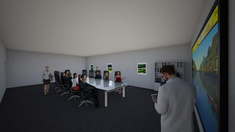 Meeting - Office - by coolboy95