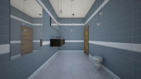 A Pretty Half_Bath - Glamour - Bathroom - by ilovepie