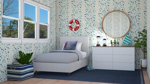 Nautical - Bedroom - by lovedsign