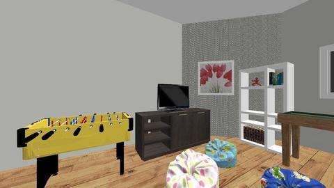 Mackenzies Game room - Kids room - by Mhusaby2