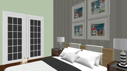Coastal Modern - Bedroom - by ahamm42