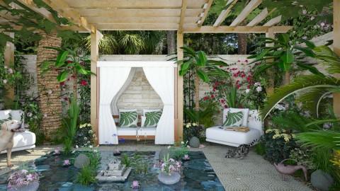 Design 282 Oasis - Garden - by Daisy320