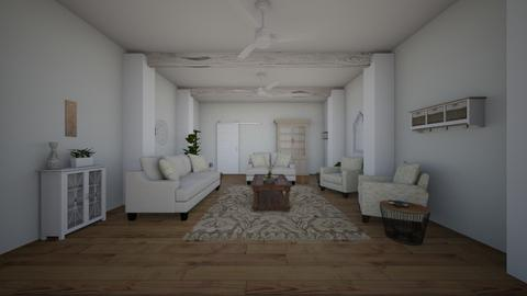 Pillar - Living room - by bayleehancock