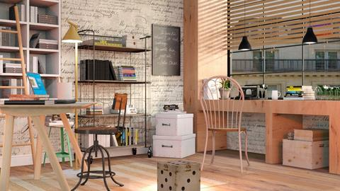 Eclectic Office - Eclectic - Office - by Sally Simpson
