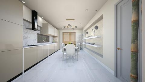 light crem kitchen 7 - Glamour - Kitchen - by Bianca Interior Design