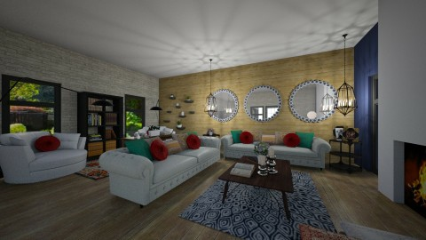 living room - by PoukInteriors