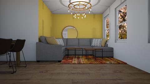 Part 4 - Modern - Living room - by Maayan A