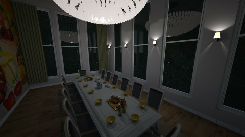 we need space - Dining room - by Indiee