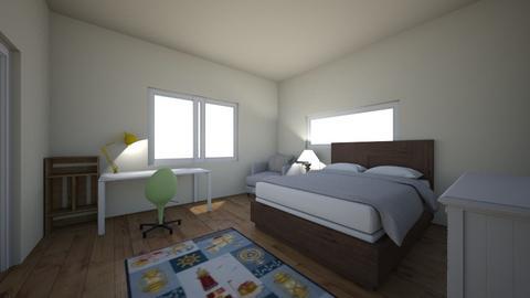 Bedroom 1 - Rustic - Bedroom - by maddymcgreg