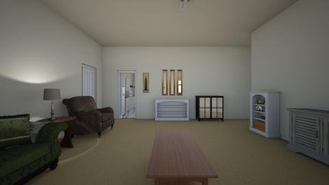 3BR NY Apartment - Living room - by WestVirginiaRebel