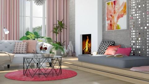 Spring pink - Living room - by Liu Kovac