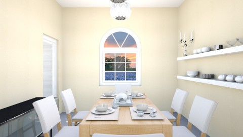 spanish house project - Dining room - by Janet8151