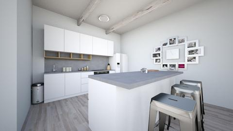 kitchen and dining room 3 - Kitchen - by idorma