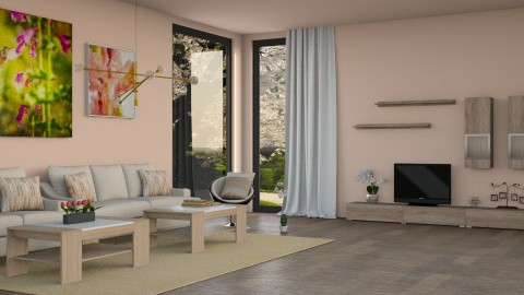 Spring  - Modern - Living room - by Lissii08
