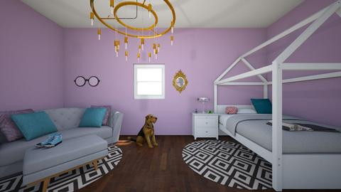 Anna - Bedroom - by Annalise Smith