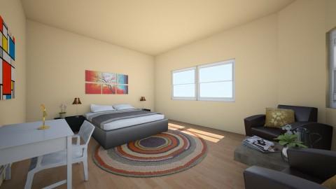 Room 4 - Bedroom - by Jana Alwidyan