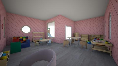 Aura Preschool - Kids room - by guerrinigm
