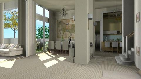 house - Minimal - Living room - by oliricescarraman