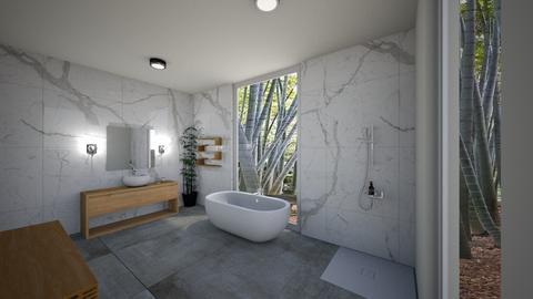 Modern Bathroom ModDezign - Bathroom - by Sanja S