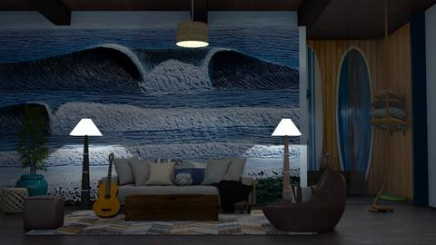 Surf culture Living - Living room - by Sue Bonstra