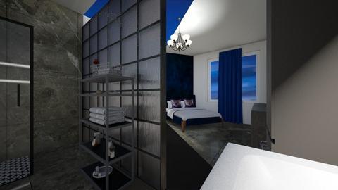 blue - Bedroom - by MSK