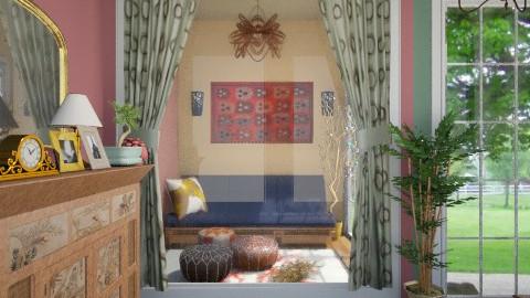 brief antqua - Retro - Living room - by Veny Mully