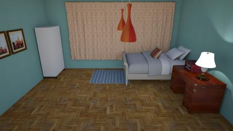 modern - Retro - Bedroom - by zoidar