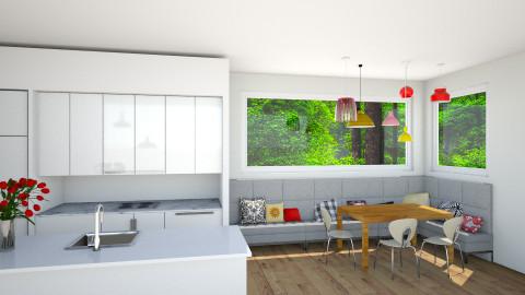 Open Kitchen - Kitchen - by Katie Kins