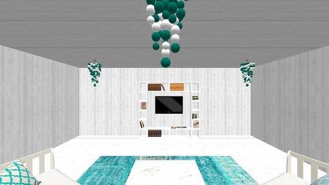 Cyan Condo - Modern - by Iridescent Designs