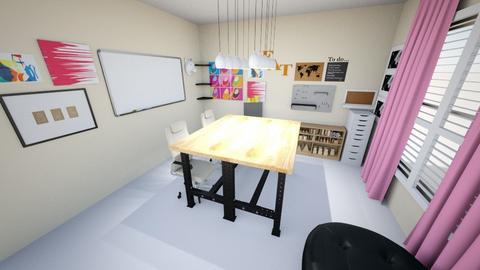 office - Bedroom - by Tanyapayan