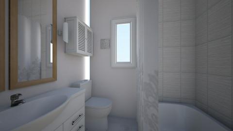current bathroom - by kristiderev