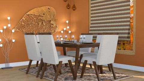 Birch Leaf - Classic - Dining room - by millerfam