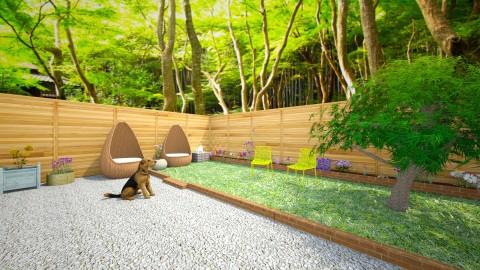forest hideaway garden - by pancat