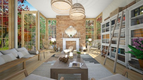 Inside Out - Eclectic - Living room - by camilla_saurus