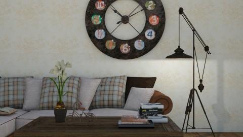 vintage close up  - Rustic - Living room - by jjannnii