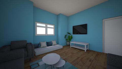 my design  - Living room - by Alyaziaalhosani