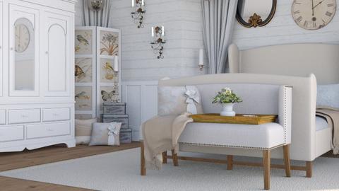 shabby chic bedroom  - Bedroom - by boho_dreamer