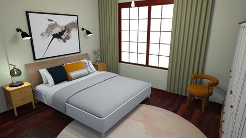 hella bedroom - Bedroom - by cupofhappy