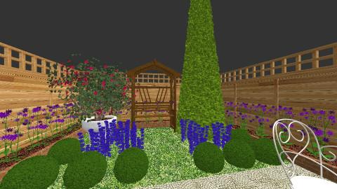 room with garden - Garden - by Jillheemskerk