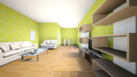 My design room(Front) - Living room - by Chen Andi