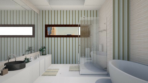 wood  - Modern - Bathroom - by Luana  Oliveira