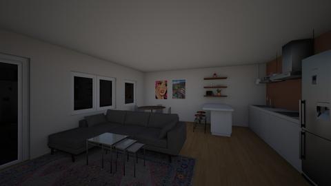 fin - Living room - by ellafrodin
