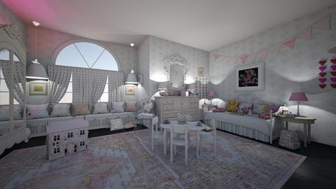 shabby girl - Kids room - by hillygabe