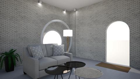 groot raam - Living room - by Sarah De Clercq