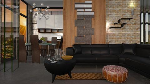 Glass Brick - Modern - Living room - by Jessica Fox