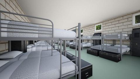 Army Barracks - Bedroom - by SammyJPili