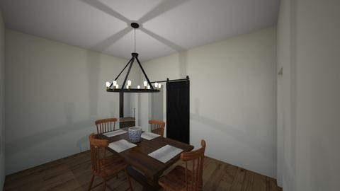 HOUSE - Dining room - by clevede