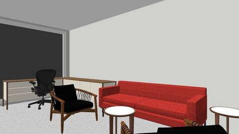 Jeremy Rock Theater Sofa - Office - by e57assistants