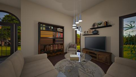 Living Room - by jokersdaughter669